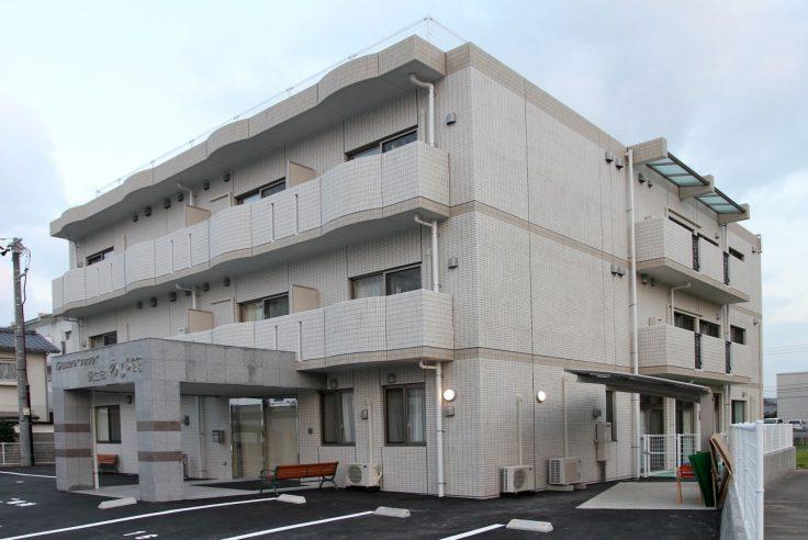 施工事例イメージ : 愛媛県松山市 サービス付き高齢者向け住宅 朝生田あるる館