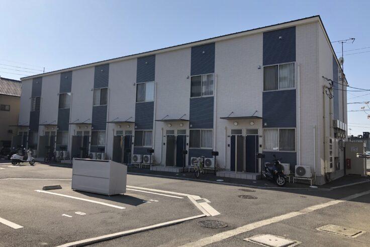 施工事例イメージ : 愛媛県松山市 賃貸アパート