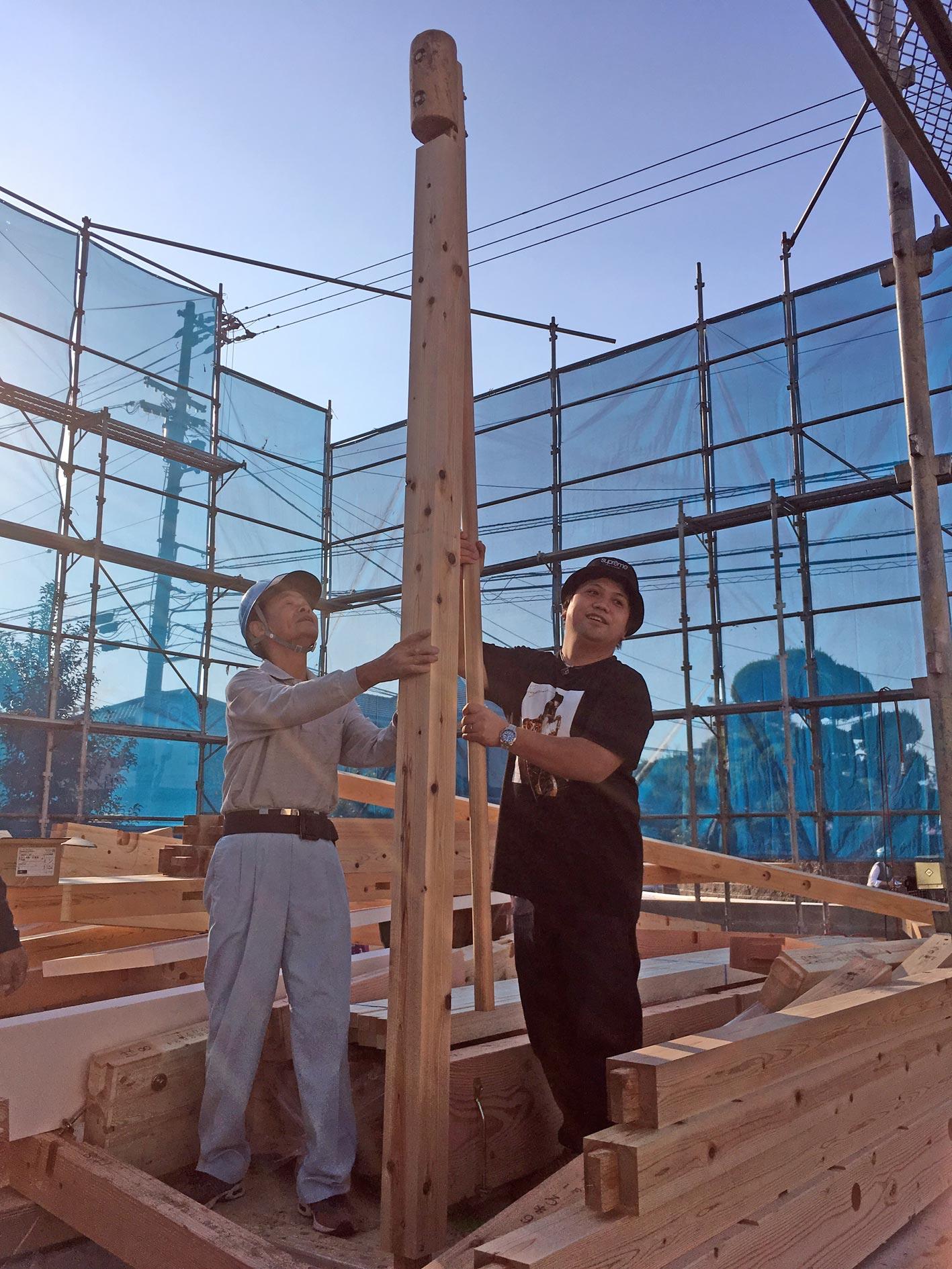 O様邸上棟しました松山市の建設会社風土