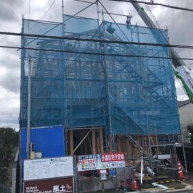 サムネイル : 北黒田A号地建売住宅上棟致しました。